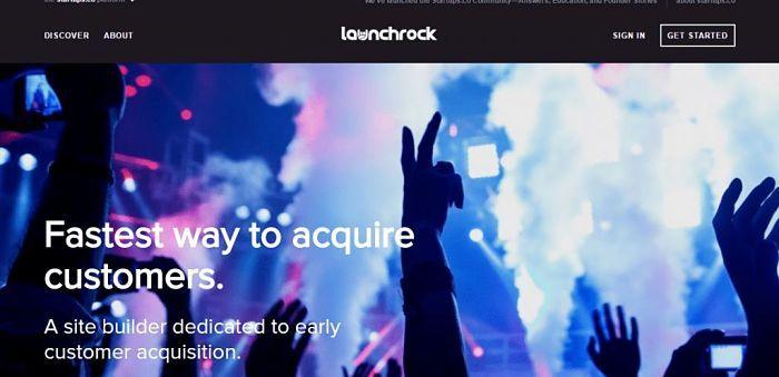 Landing Page Launchrock