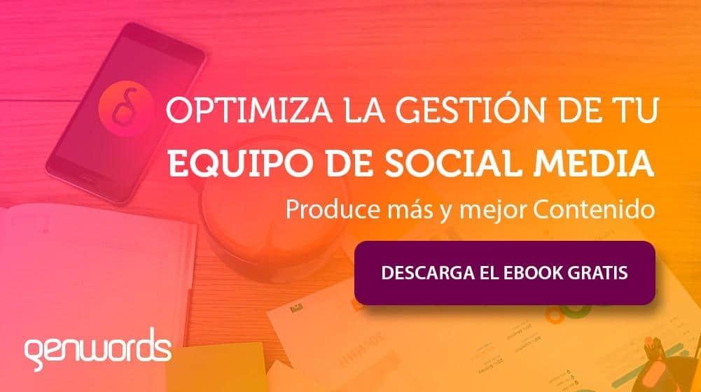 Gesti�n Social Media