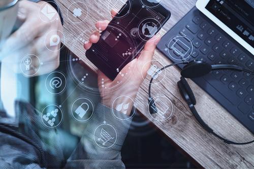 Mobile services graphic