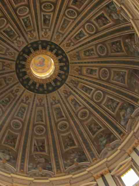 Interior of St. Peters dome