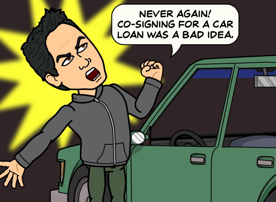 co signing for a car loan