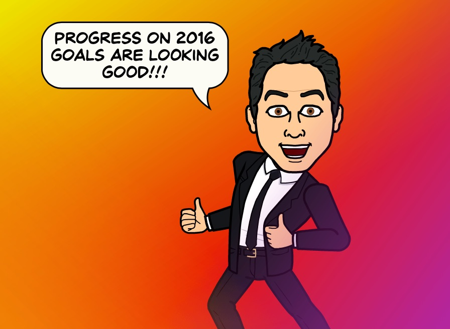 2016 Goal Check in #1