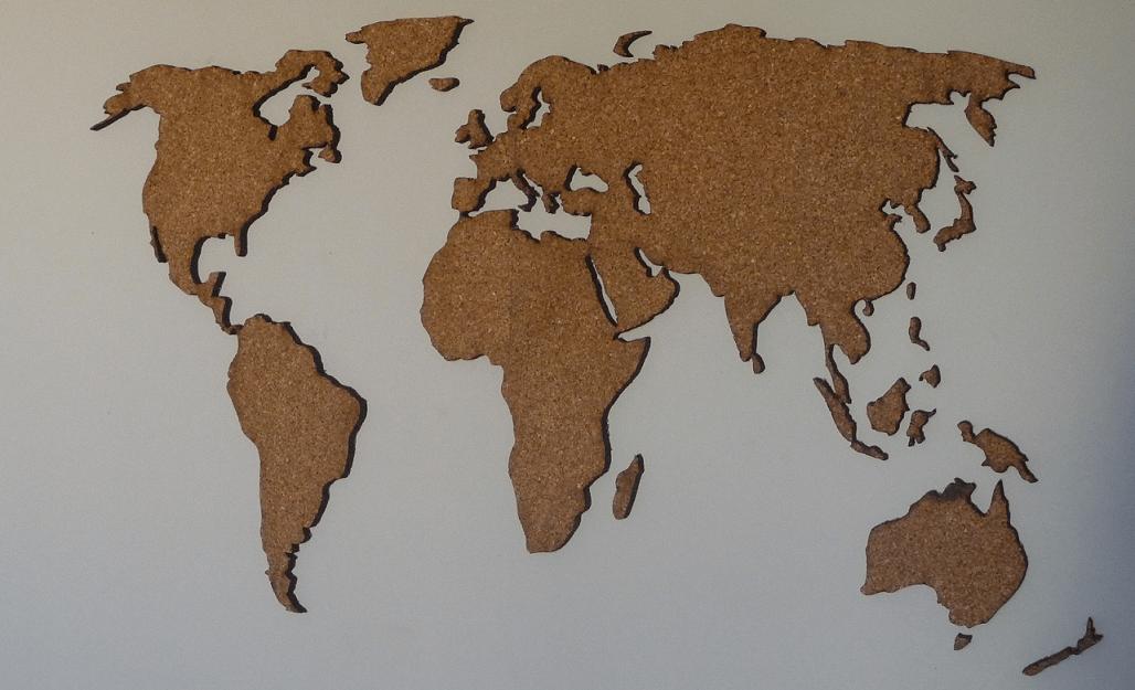 Les meilleures cartes du monde en liège