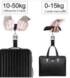 comment peser son bagage avec une balance electronique