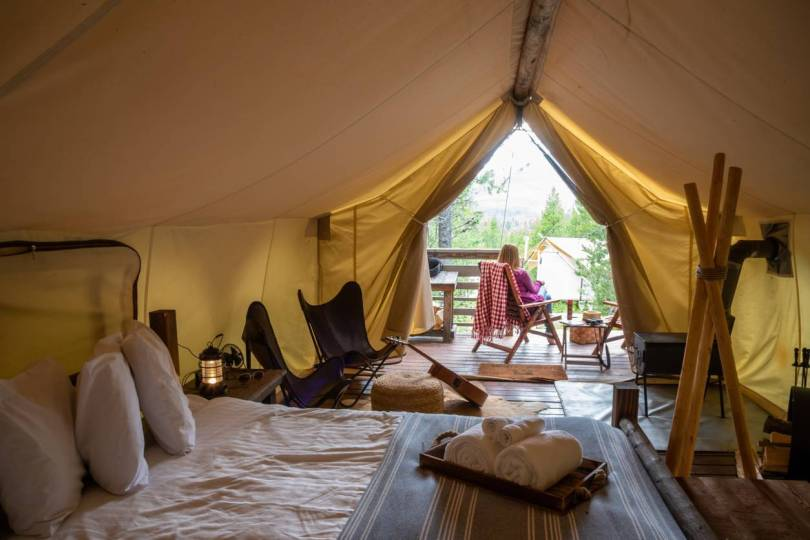 camping luxe