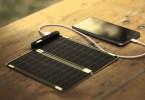chargeur panneau solaire voyage