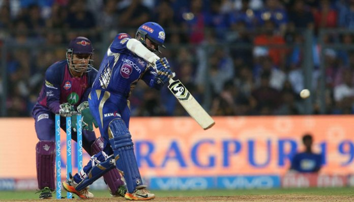 Parthiv Patel of Mumbai Indians attempts a shot/BCCI