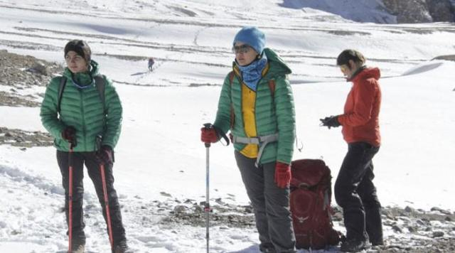 Samina Baig leads first national women winter expedition to Shimshal peak