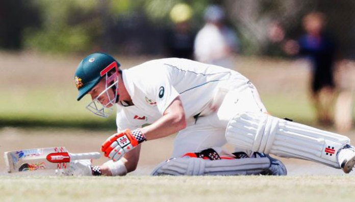 warner hit by bouncer during domestic match in australia | sports Warner hit by bouncer during domestic match in Australia | Sports 153727 8205096 updates