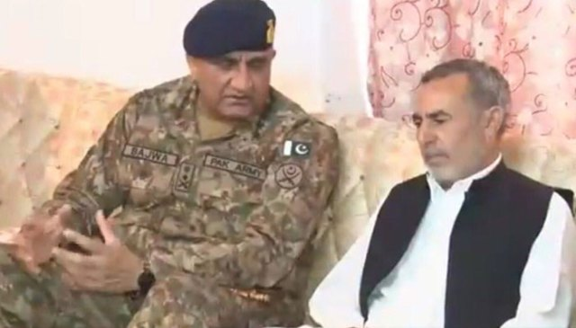 169993 8661303 updates - COAS deeply saddened on demise of martyred Lt Arsalan's father: ISPR | Pakistan
