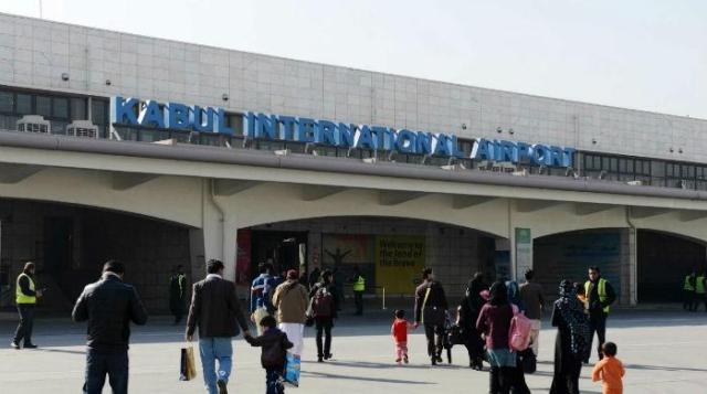 Image result for Blast hits Kabul airport on return of exiled Afghan vice president