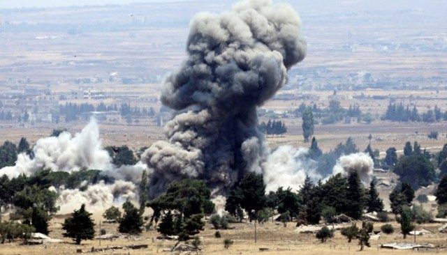 Image result for Russian-backed air strikes hit Daesh in southern Syria: sources