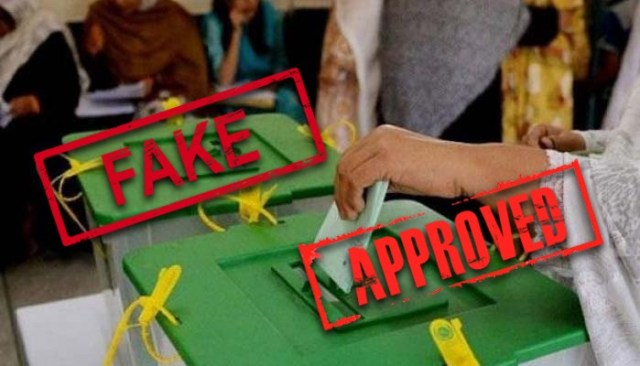 Image result for ECP announces method to do away with fake votes