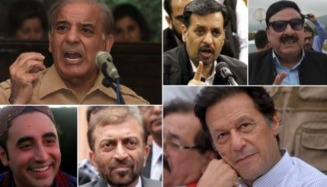 Image result for Early results show tough battle among major parties in key NA constituencies