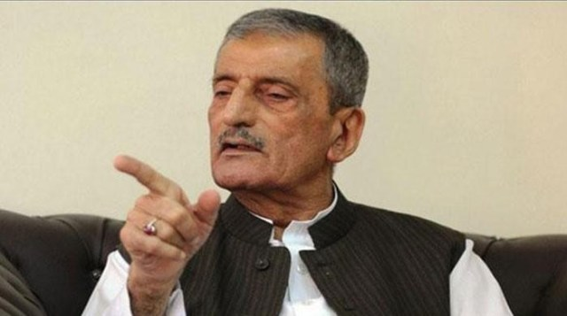 Image result for ANP's Bilour concedes defeat, admits Imran's popularity in KP