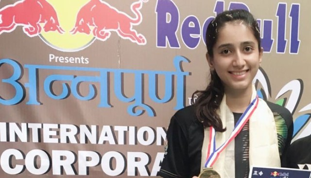 Image result for Pakistan's Mahoor wins Annapurna International Badminton Tournament