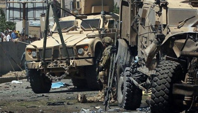 Image result for Afghan suicide blast kills three Czech soldiers, Taliban claim responsibility