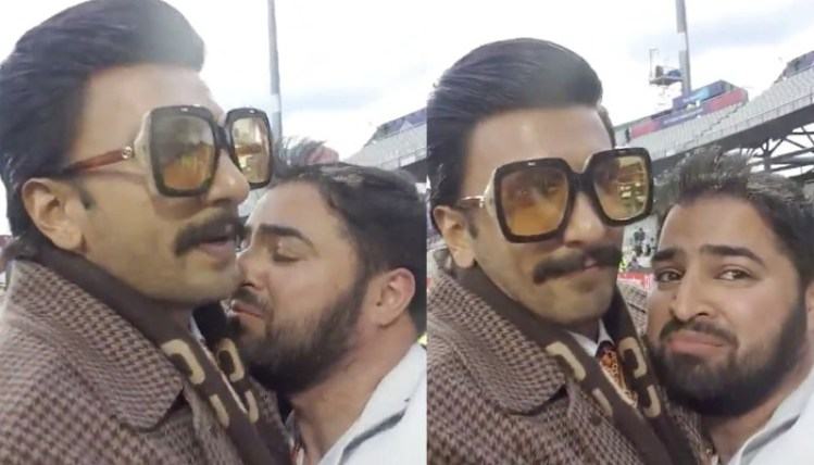 Image result for When Ranveer Singh hugged, consoled a Pakistan fan