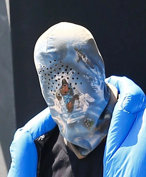 353621 4587010 updates Kanye West papped in religious-themed mask