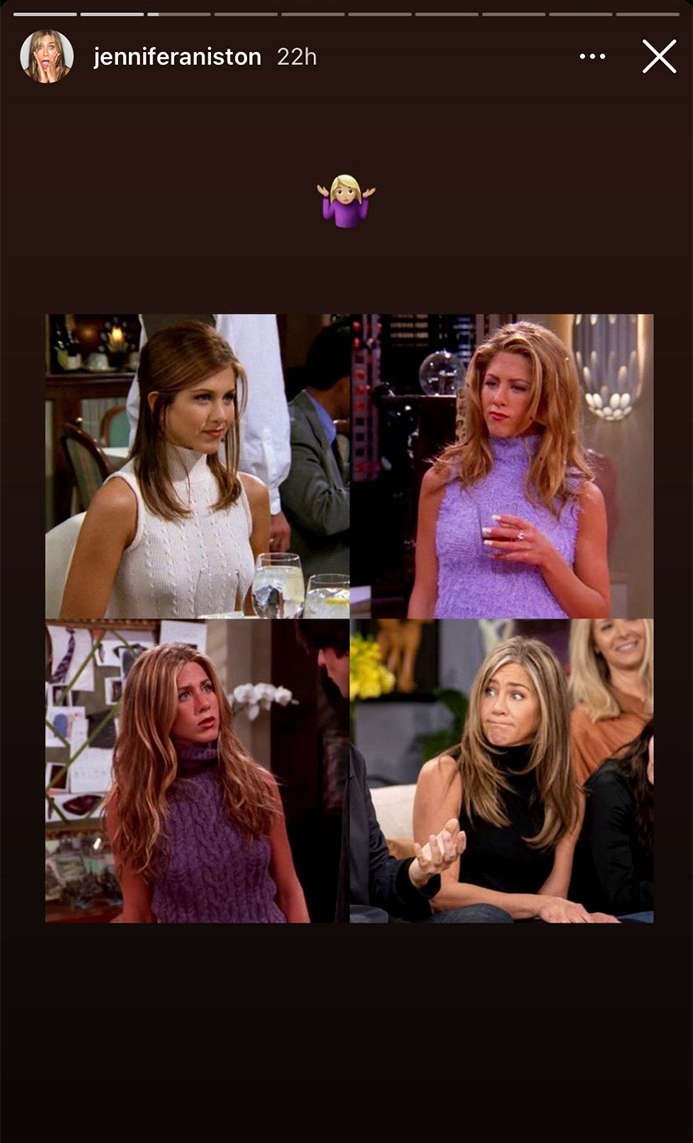 353718 442273 updates Jennifer Aniston pokes fun at her character of Rachel Green from 'Friends'