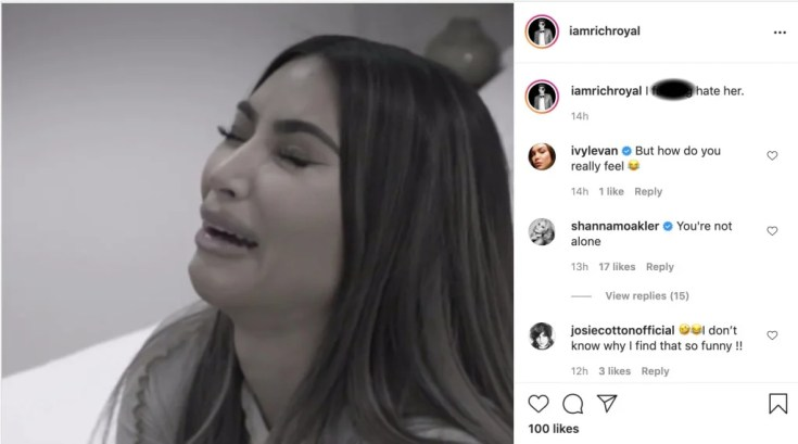 353749 8121228 updates Shanna Moakler publicly announces that she 'hates' Kim Kardashian