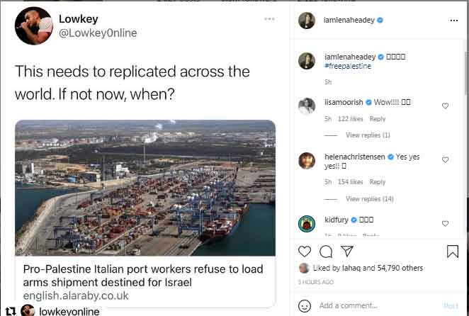 Game of Thrones Cersei Lannister fordert Befreiung Palästinas