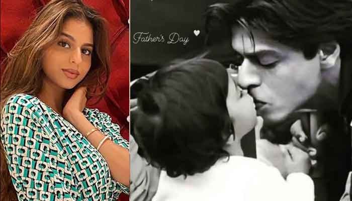 Shah Rukh Khan's daughter Suhana Khan shares amazing throwback photo on Fathers Day