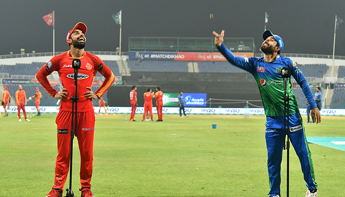 PSL 2021: Multan Sultans opt to bat against Islamabad United