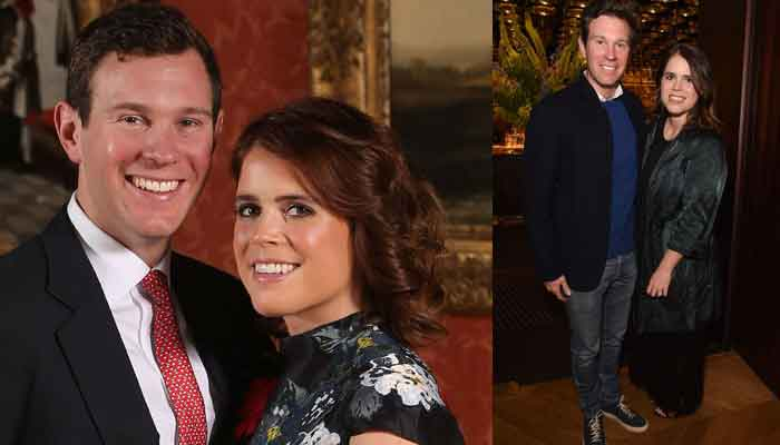Princess Eugenie and Jack Brooksbank enjoy glamorous night out