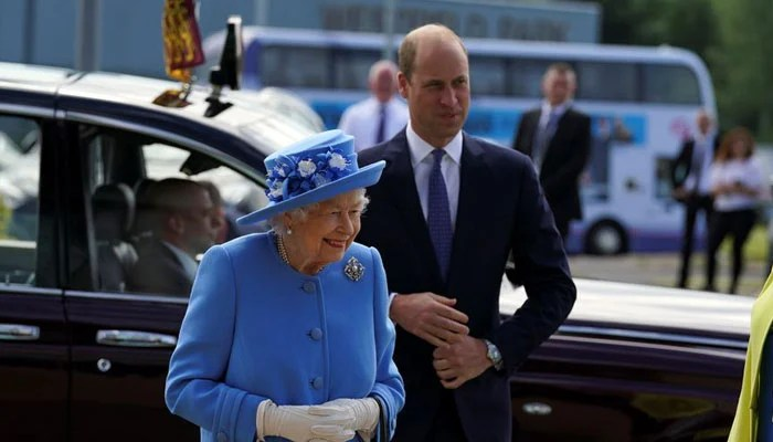Queen was joined by grandson Prince William for her first visit to Scotland since the death of Philip
