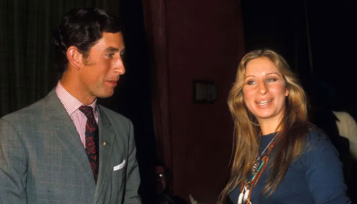 Prince Charles recalls how Barbara Streisand dazzled him during their first meeting