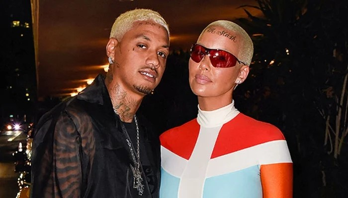 """Amber Rose alleges boyfriend Alexander """"AE"""" Edwards cheated on her with 12  women"""