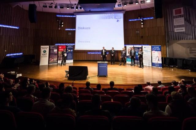 Diskuze na Unicorn College Open v dubnu 2017