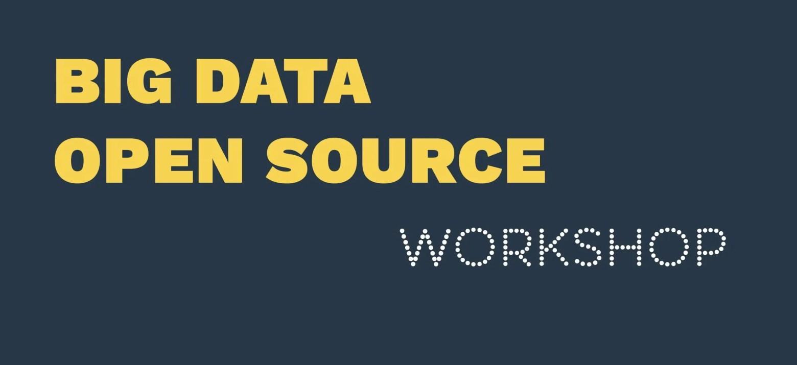 workshop big data, open source / GeoBusiness