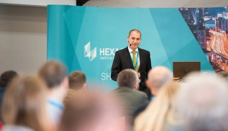 Jakub Svatý, Hexagon, na konferenci HxGN Local / GeoBusiness
