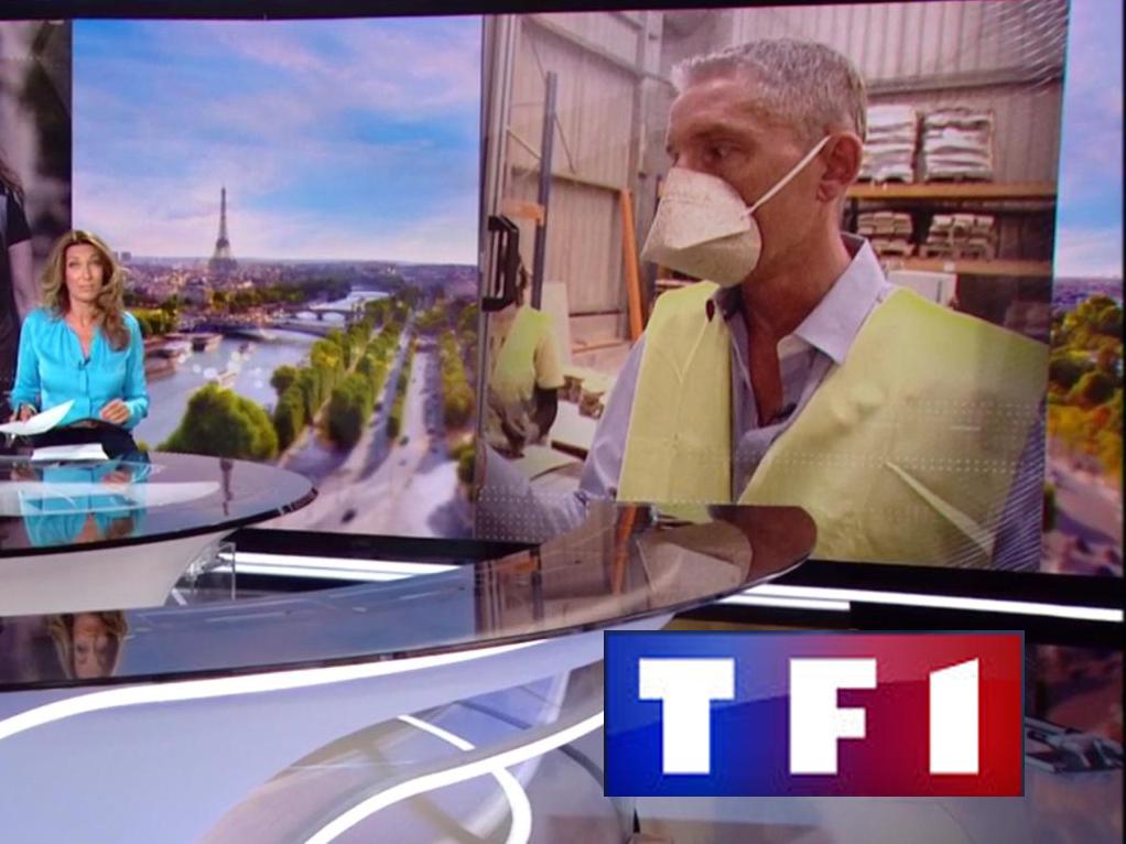 TF1 Masques Biocompostable