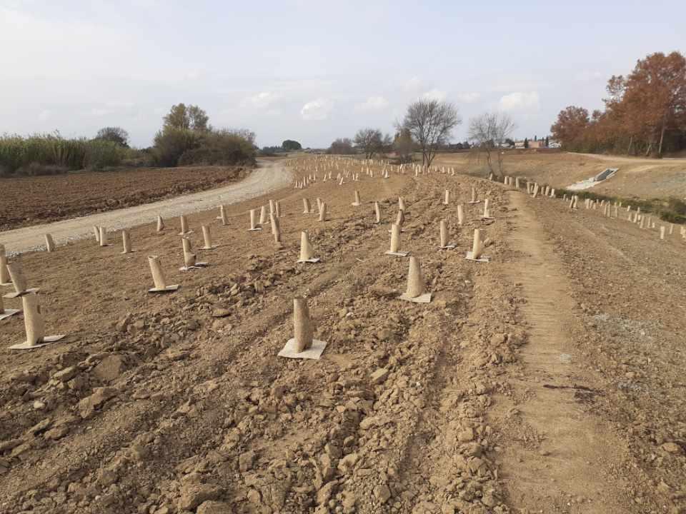 Manchon de Protection biodégradable 100% chanvre de géochanvre