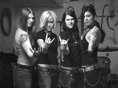 Kittie's Besetzung in 2005