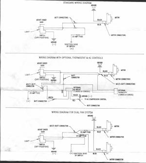 Hayden electric fan wiring diagram