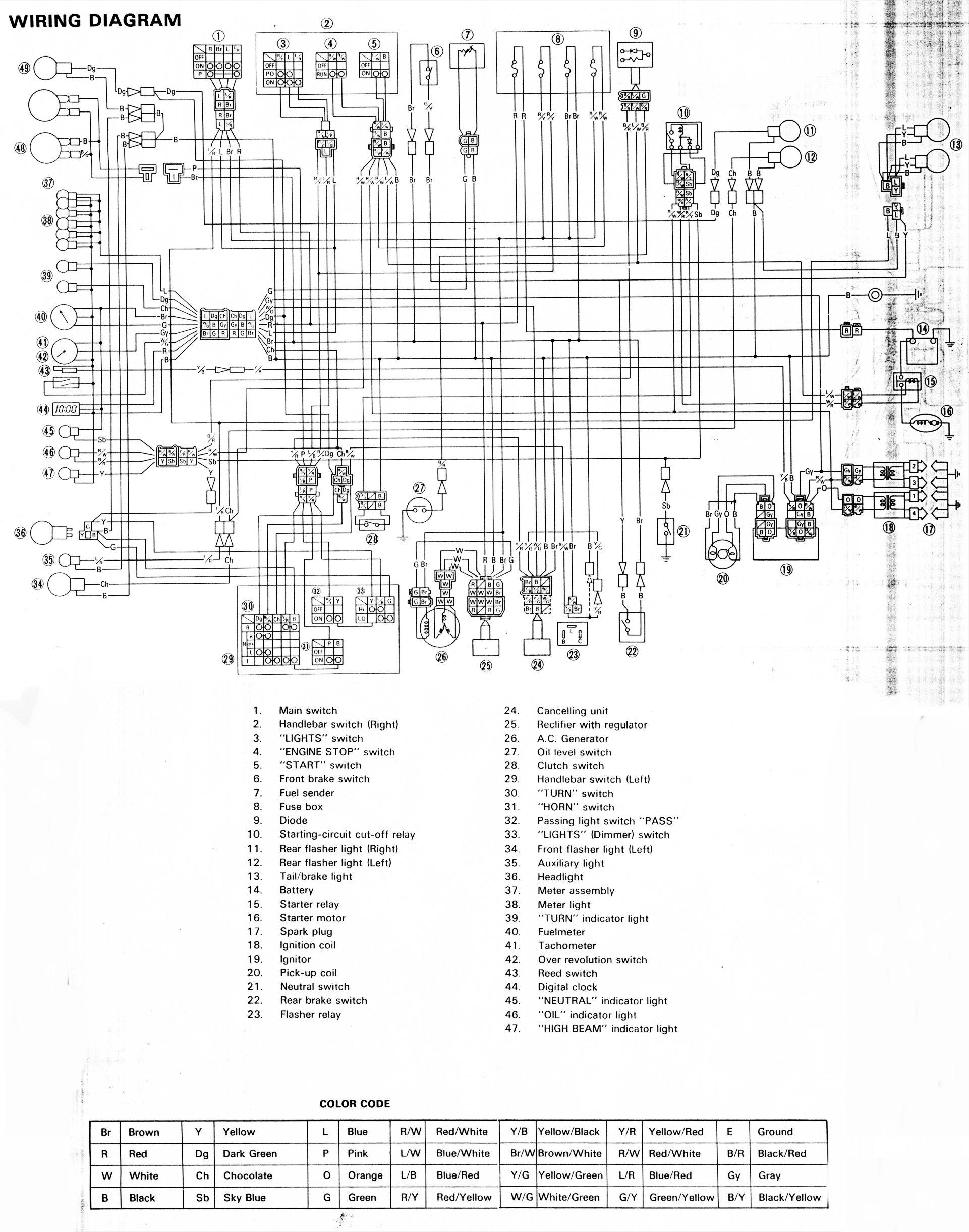Yamaha Lb80 Wiring Diagram