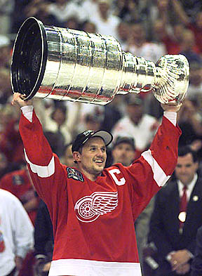 Red Wings 1998 Stanley Cup Pictures
