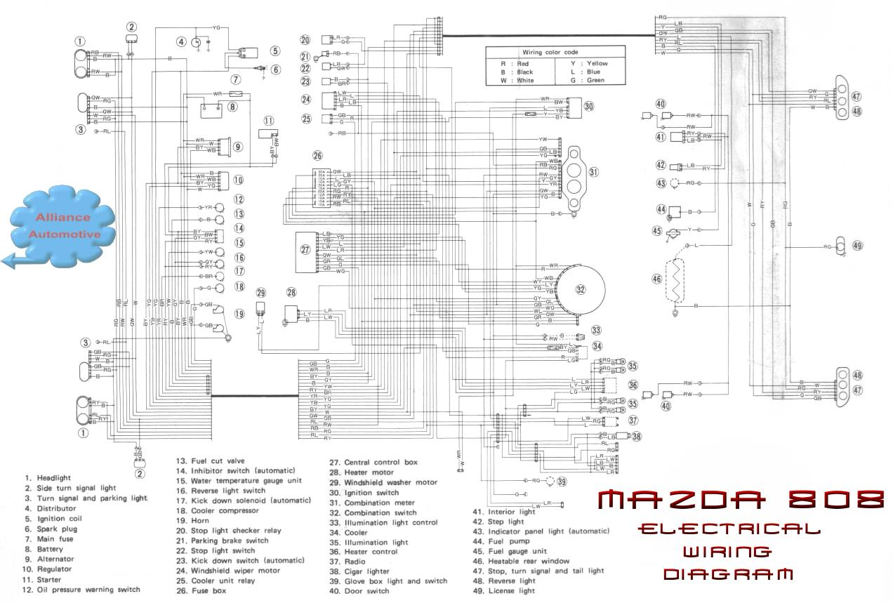 Wiring Diagram Ign Switch 2000 Mazda Protege on Mazda Miata Fuse Box Diagram