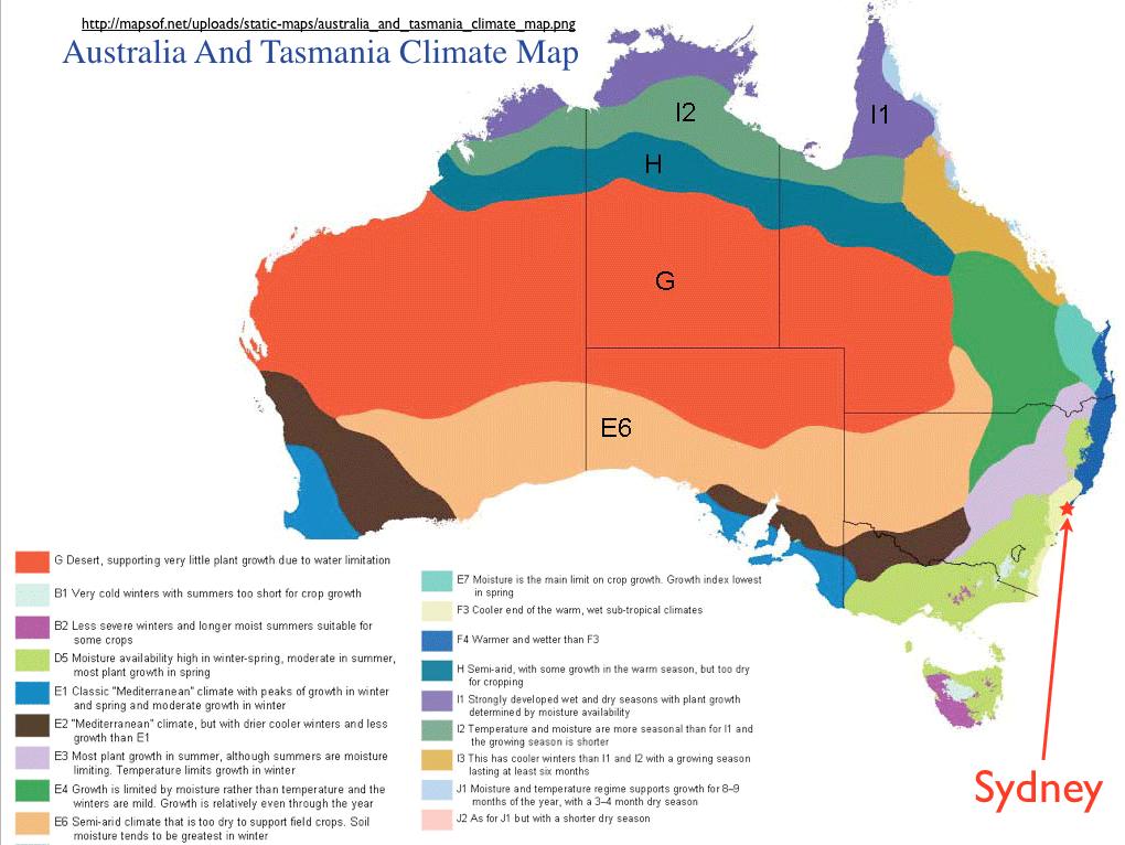Physical Map Melbourne Australia