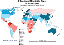 Image result for world murder statistics