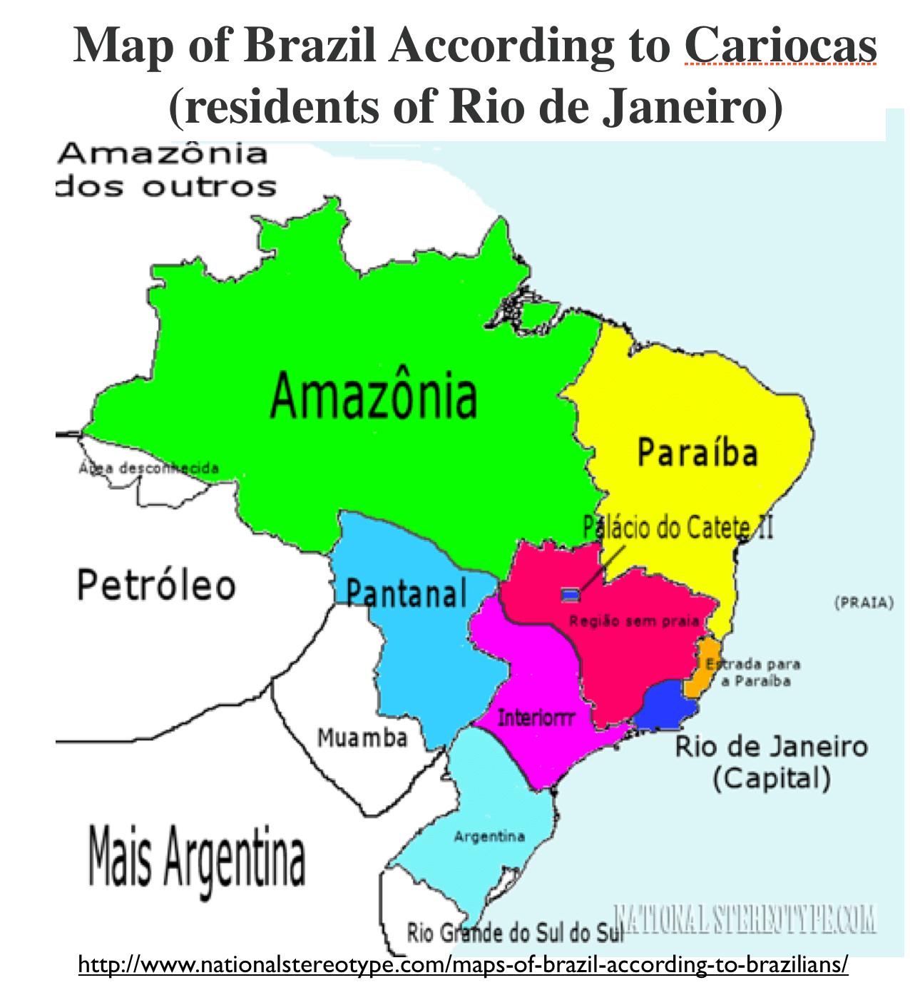 Regional Stereotypes In Brazil