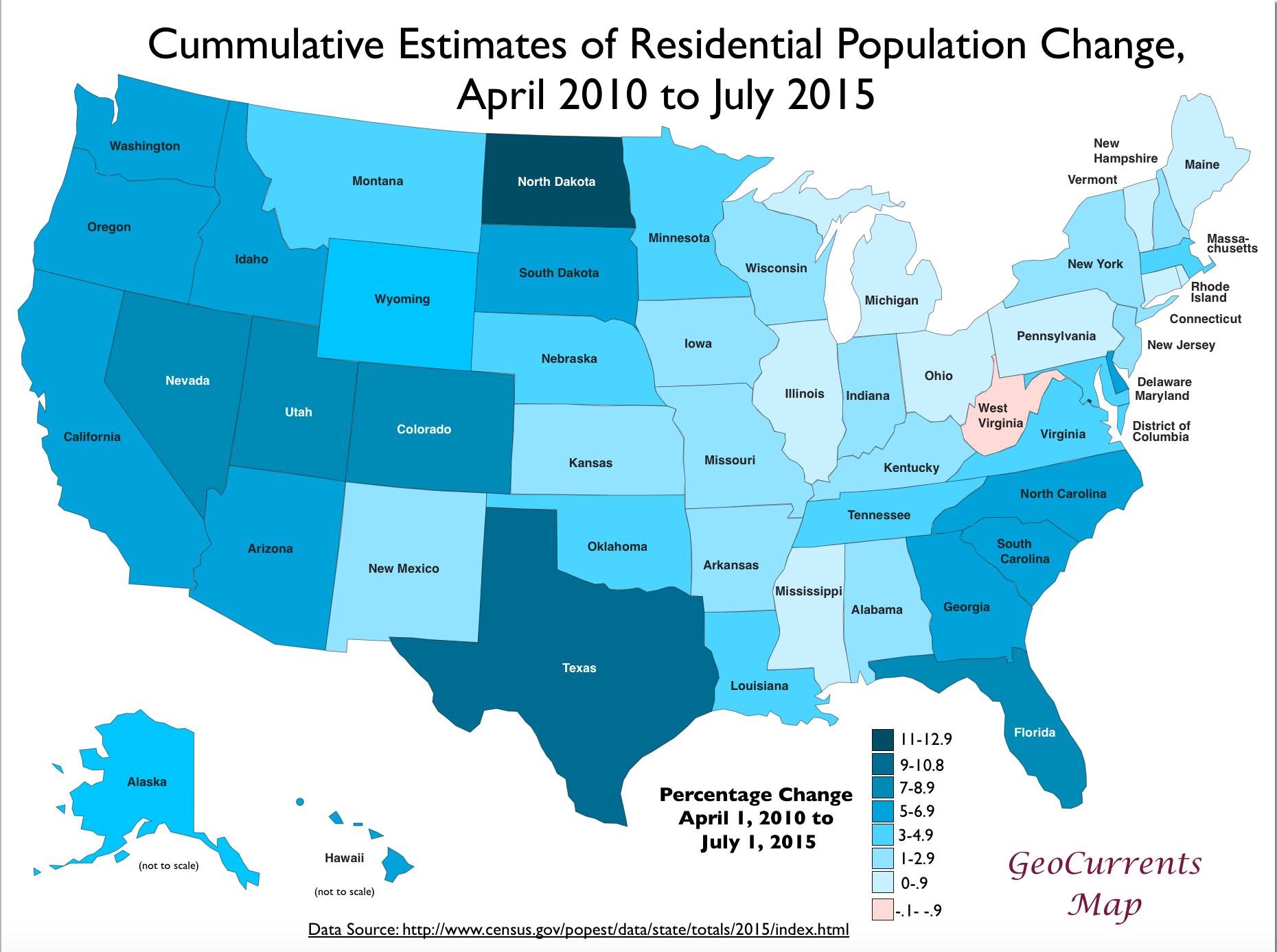 Map Of Usa Population Afp Cv