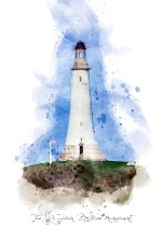 Hoad Monument in Digital watercolour