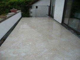 outside tiling