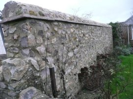 stone wall building in Dorset