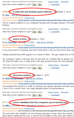 Amazon.com  Customer Reviews  WD My Book Live 2TB Personal Cloud Storage NAS Share Files and Photos
